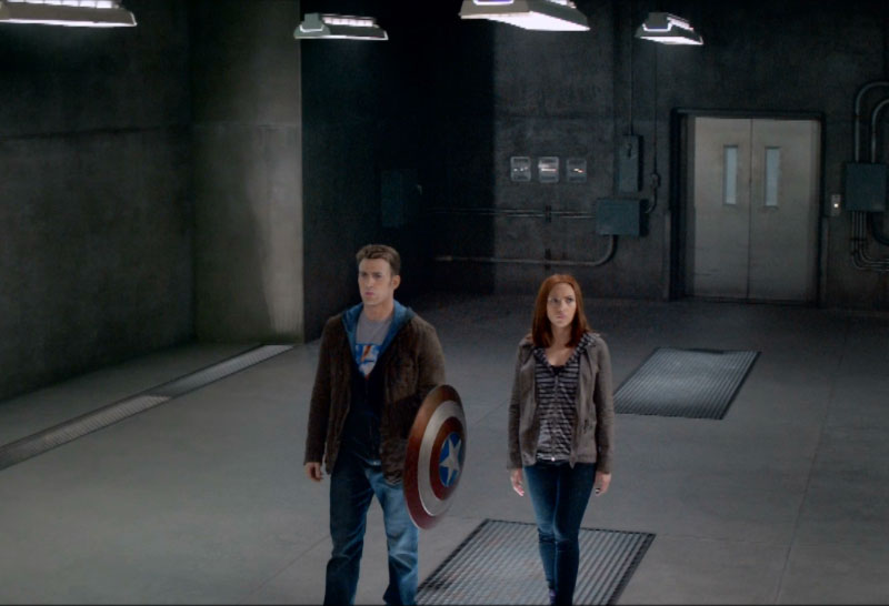 Steve Rogers Captain America Natasha Romanoff Black Widow casual outfits