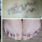 stick and poke tattoos examples