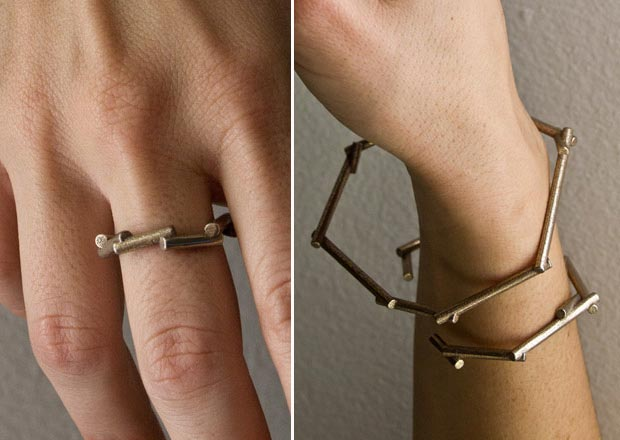 sticks jewelry by Goncalo Campos