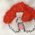 stitched Sonia Rykiel by Stephen Campbell