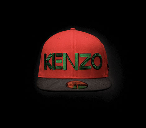 street fashion Kenzo New Era caps