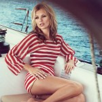 striped summer Kate Moss Vogue UK June 2013