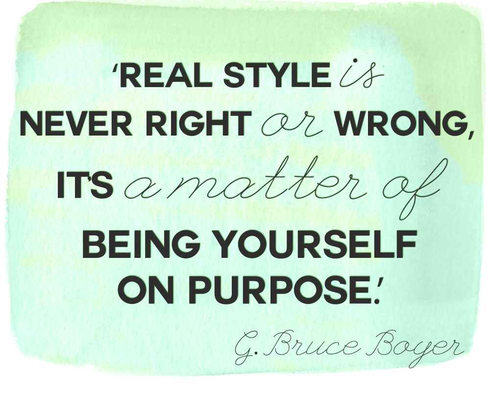 style fashion quotes what real style is