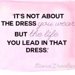 style quotes dress Diana Vreeland