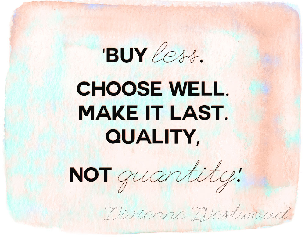 style quotes shopping Vivienne