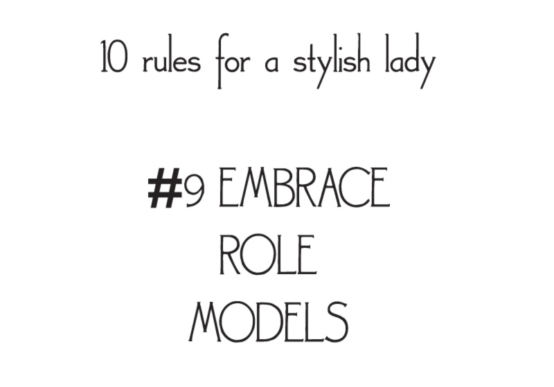 style rules for a stylish lady embrace models