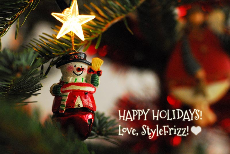 Happy Holidays From StyleFrizz!