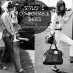 stylish comfortable shoes Audrey Hepbrun Jean Shrimpton