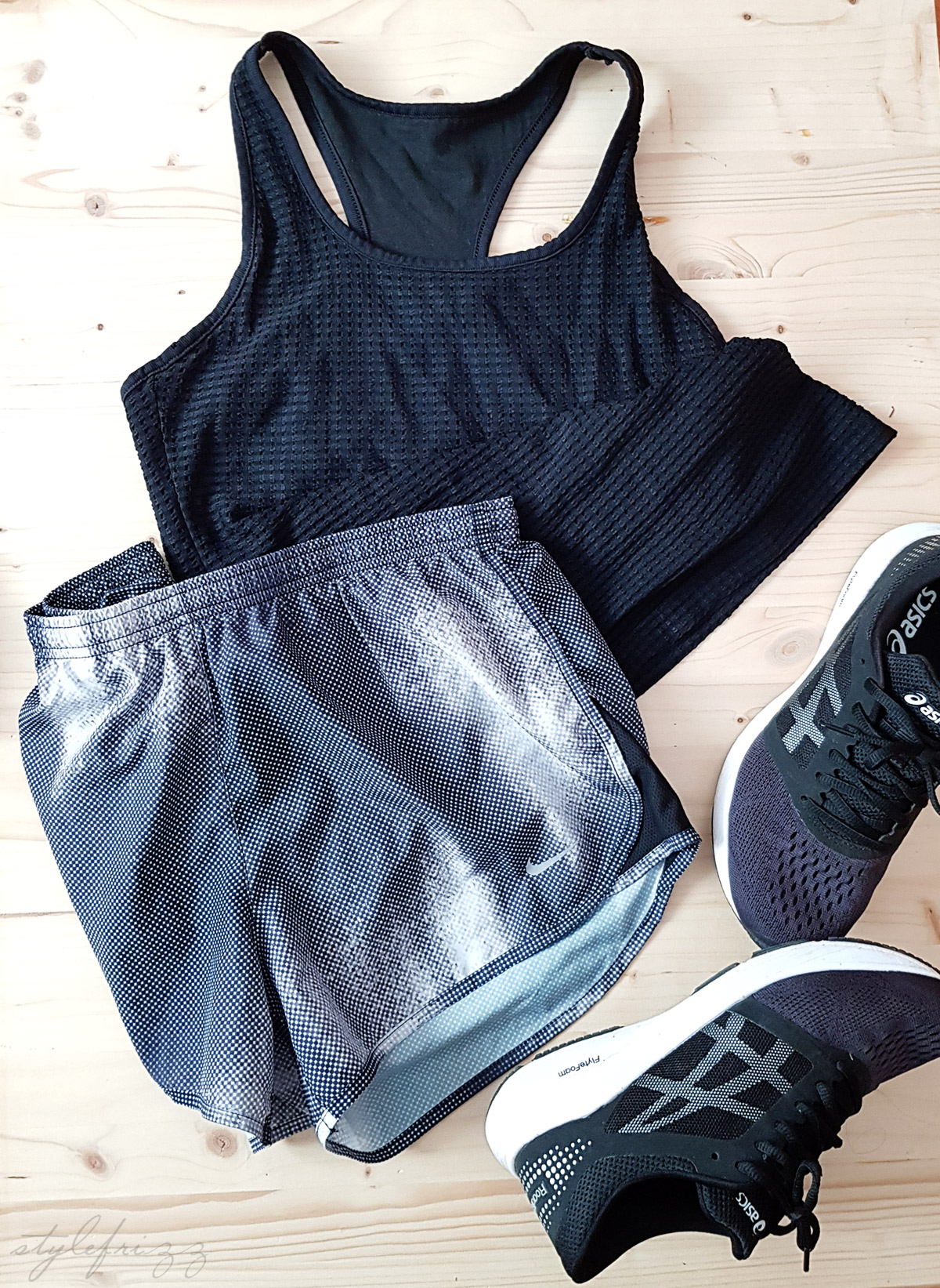 stylish running outfit