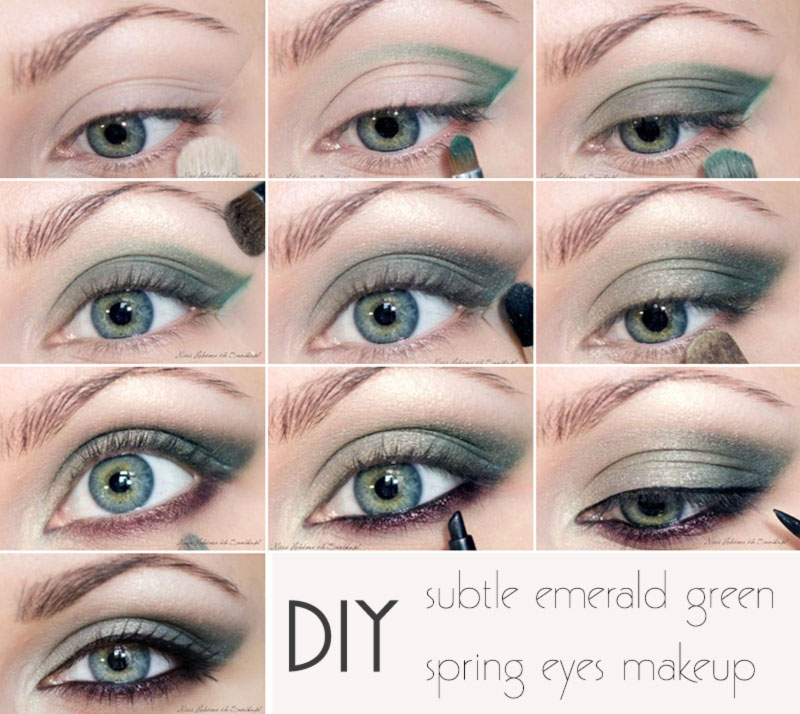 subtle spring eyes makeup inspiration