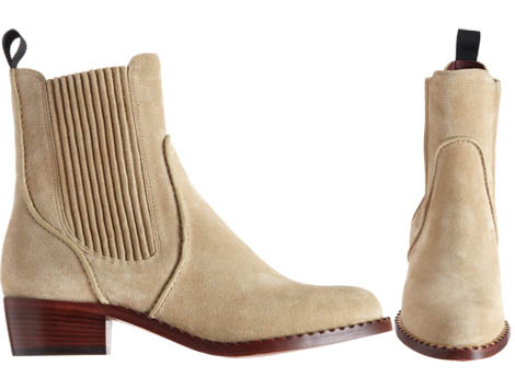 suede short boots Marc by Marc Jacobs suede Chelsea boots