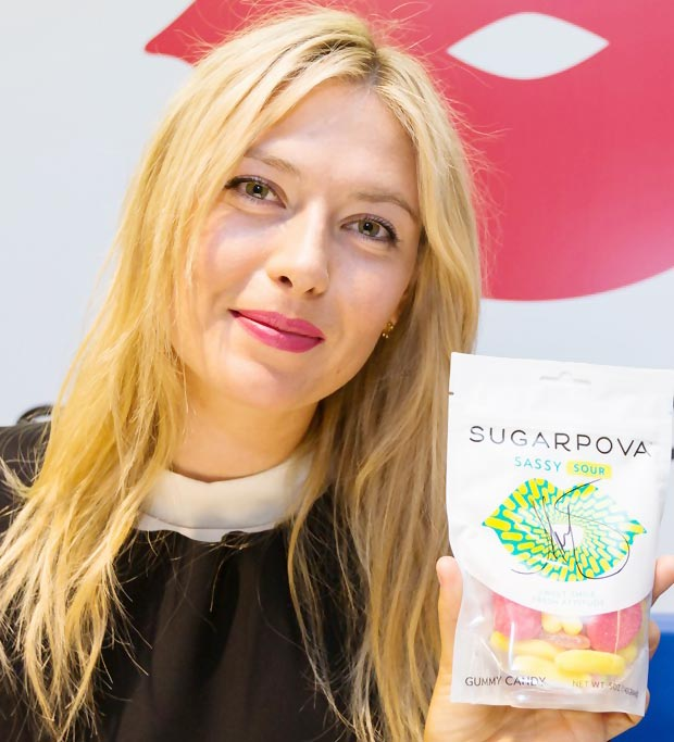Sugarpova Maria Sharapova