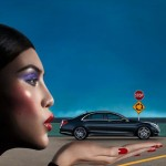 Sui He Mercedes Benz new ad campaign