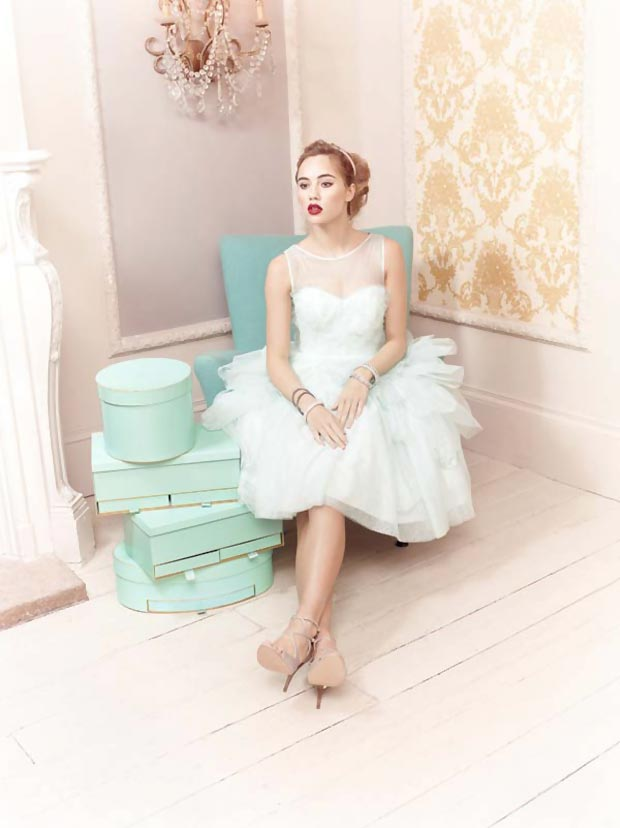 Suki Waterhouse models ballgowns Coast VA Museum