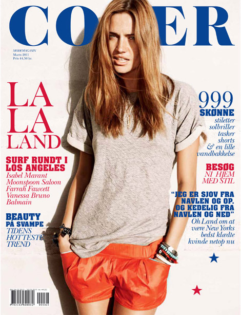Summer 2011 must Maria Gregersen cover March 2011