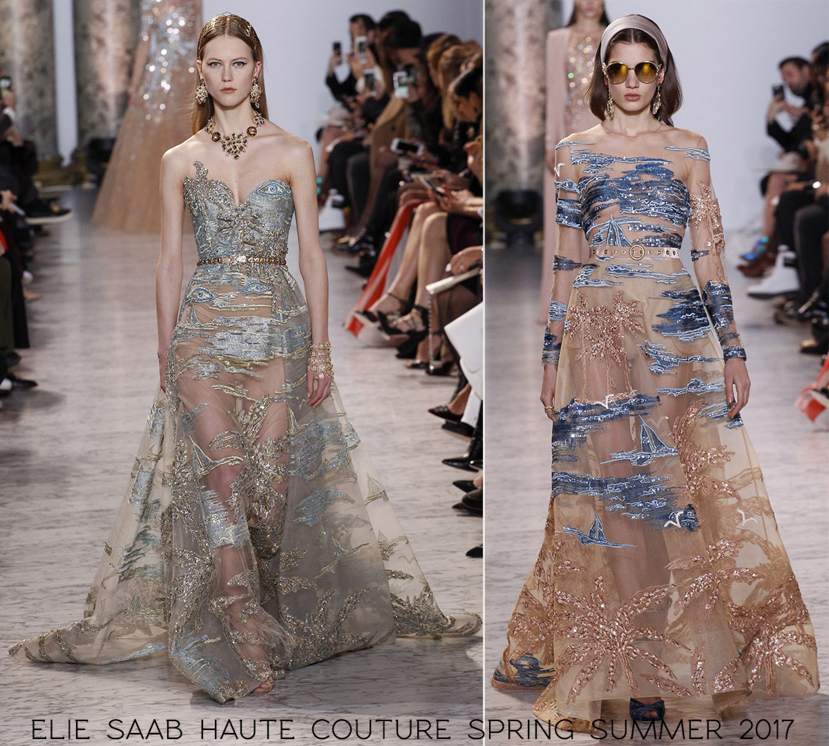summer dresses Elie Saab couture spring summer 2017
