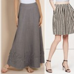 Summer essential style guide linen skirts