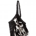 summer feathers bag Tom Ford