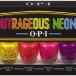 summer nail polish OPI Outrageous Neons