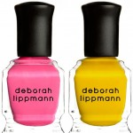 summer neon polish Deborah Lippmann