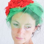 summer party flowers headpiece diy