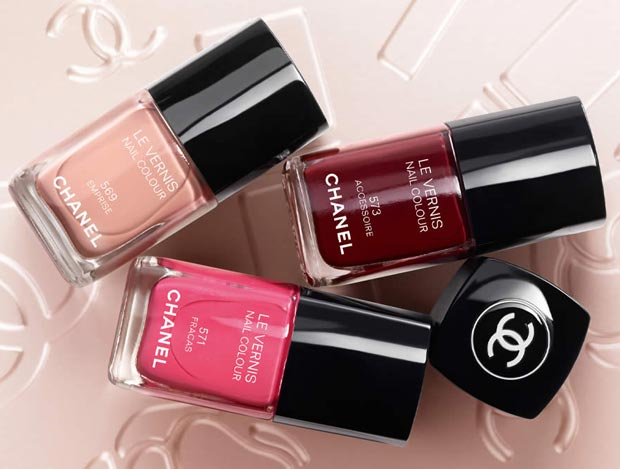 3 Must Wear Nail Polish Colors For Spring Summer 2013 From Chanel