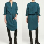 summer to fall transition dress shirt dress from Humanoid