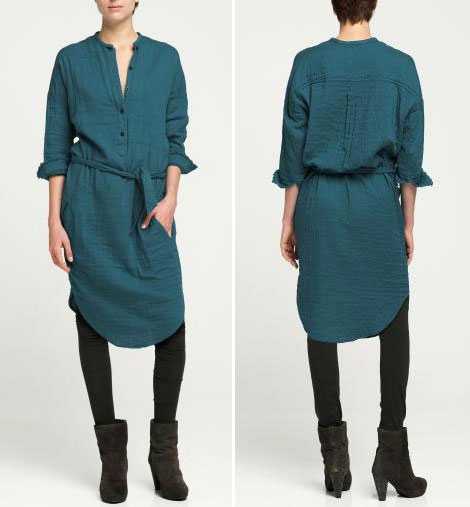 Summer To Fall Transition Dress: Eame Shirt Dress From Humanoid