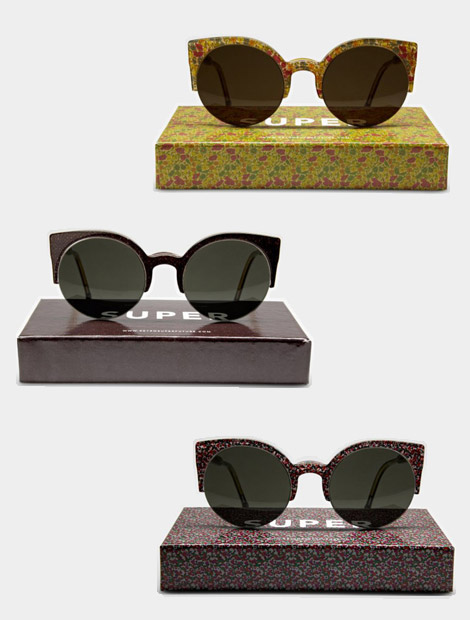Flowery Vision For Spring Super Liberty Lucia Sunglasses