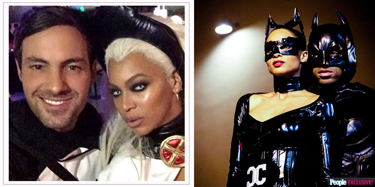 superheroes halloween costumes beyonce as storm ciara cat woman