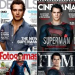 Superman Magazine covers Henry Cavill Man of Steel