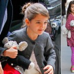 Suri Cruise new short bangs