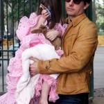 Suri Cruise pink Flamenco dress 2