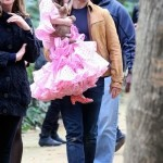 Suri Cruise pink Flamenco dress 3