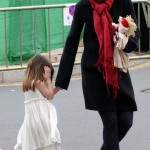Suri Cruise Pink High Heels shoes