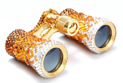 Swarovski Blings The Culture with Opera Glasses Citrine