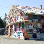 Syracuse Gas Station Covered with fabric side