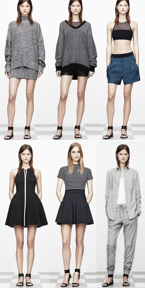 t by alexander wang resort 2013 collection T By Alexander Wang Resort 2013 Collection Debuts Swimwear