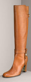 Tall Distressed Calfskin Boots Juicy Couture