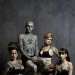 tattooed Rick Genest Rebel Ink Magazine