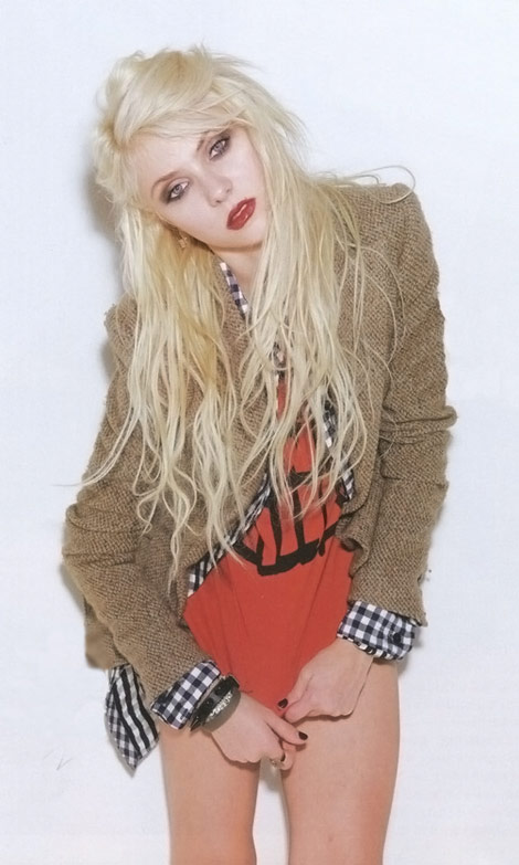 Where Is Taylor Momsen? In Nylon Japan!
