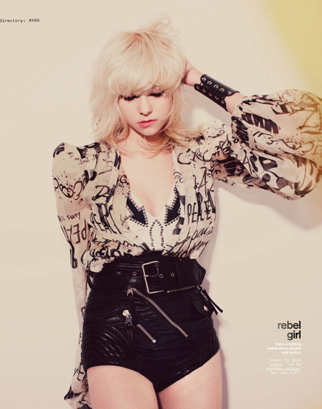 Taylor Momsen Nylon May 2009 1