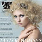 Taylor Momsen Page Six Magazine cover