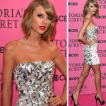 Victoria's Secret Show 2014: Taylor Swift Shows Angels Tan In Mini Dress!