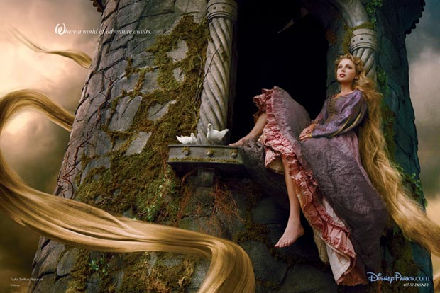 Taylor Swift Rapunzel new Disney Dream Portrait