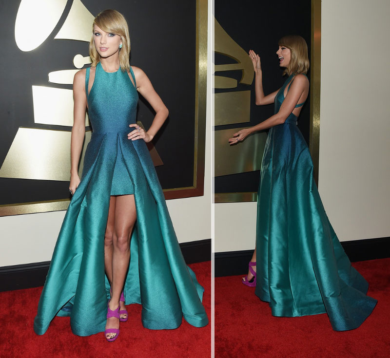 Taylor Swift Red Carpet 2015 Grammy Awards