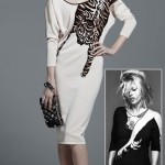 Temperley London Summer 2011 tiger dress Kate Moss Topshop