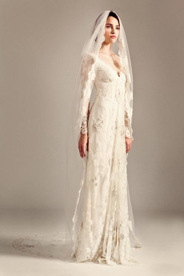 Temperley London wedding dress worn by Kelly Clarkson