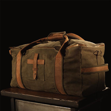 temple U Zip Duffle Bag