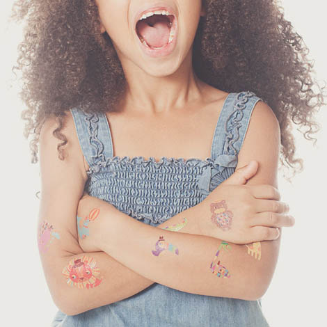 temporary tattoos for parties